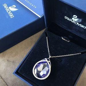 Swarovski big pendant necklace